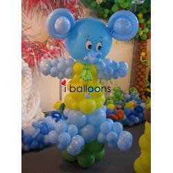 Μπαλόνια βάπτισης Ελεφαντάκι, για αγόρι, στην Κηφισιά Μπαλόνια Βάπτισης Special