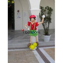 Μπαλόνια βάπτισης Πινόκιο, για αγόρι, στην Καλλιθέα Μπαλόνια Βάπτισης Special
