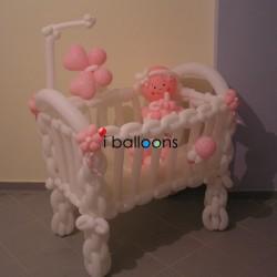 Μπαλόνια για Γέννα