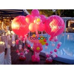 Μπαλόνια Βάπτισης Δεξίωση